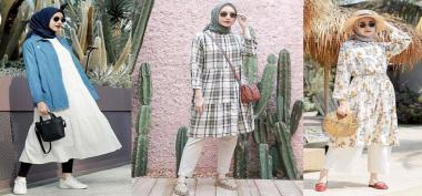 Padu Padan Fashion Muslimah Trendy